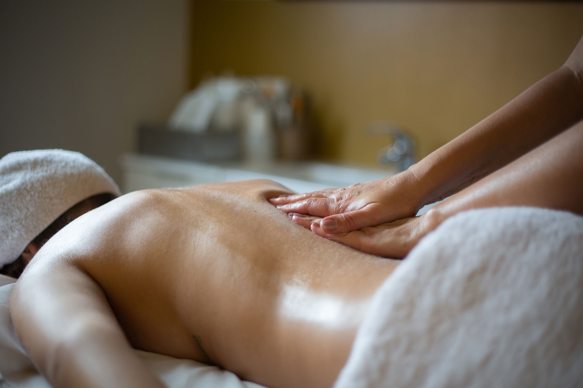 Massages du dos